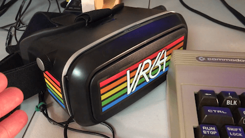 VR64 – Virtual Reality Goggles for the commodore 64 Preview